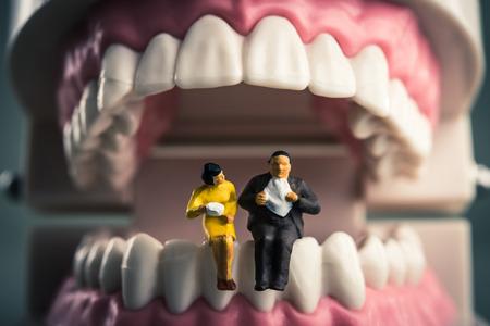 hypersensitivity: Teeth and a human