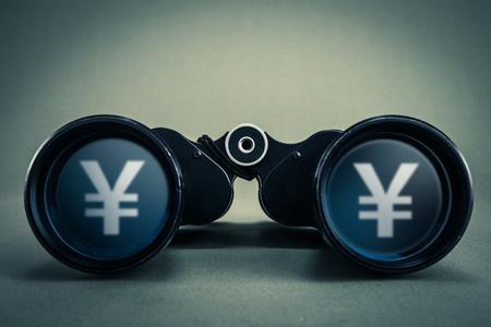 bystanders: binoculars and money