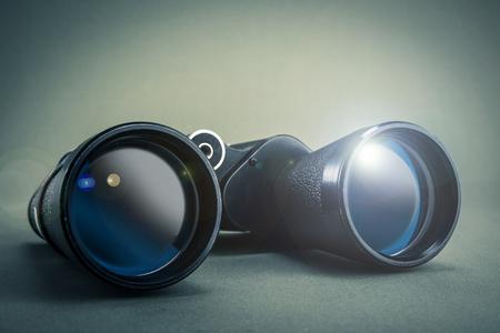 bystanders: binoculars