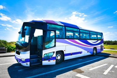 Toeristische bus Stockfoto