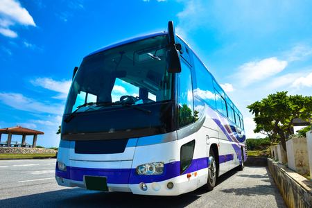 tourist resort: Tourist bus