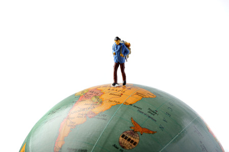 foreign land: Miniature human adventure on Earth