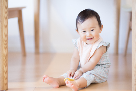 Linda asiática baby.Japanese