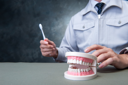 dental image: Dental image Stock Photo