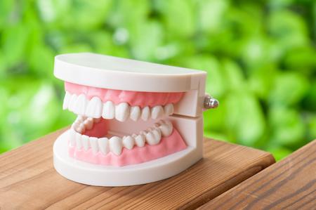 hypersensitivity: Dental image Stock Photo