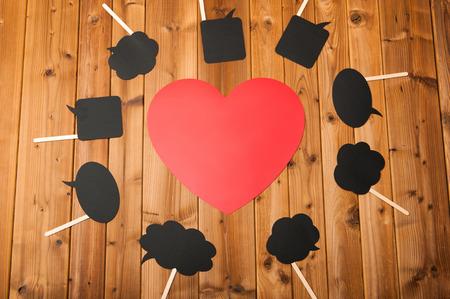 Red Heart mark