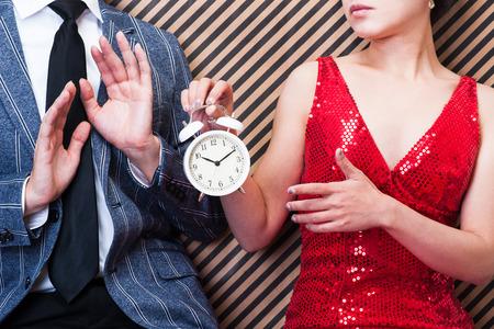 時計、男性および女性