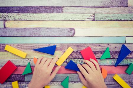 Disjointed building blocks