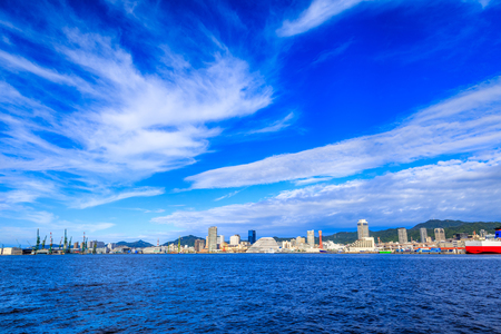 Japón paisaje Kobe Foto de archivo - 64917042