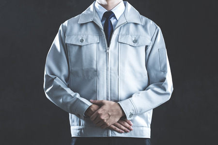 work clothes: Men dressed in work clothes
