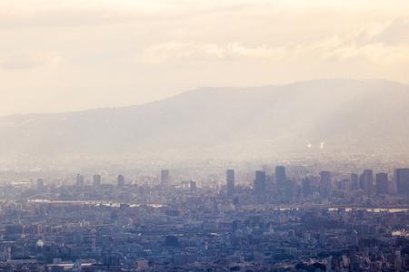 Japan city landscape