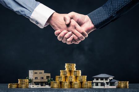 Handshake of businessman Imagens - 71687245