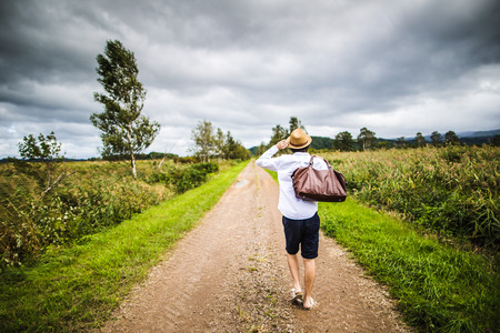 difficult lives: Men who walk the straight road
