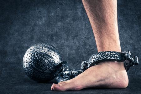 Shackles, iron ball