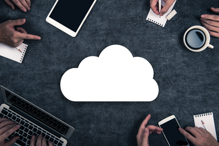 Cloud Business Stock Photo