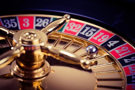 Roulette de casino Banque d'images - 72560167