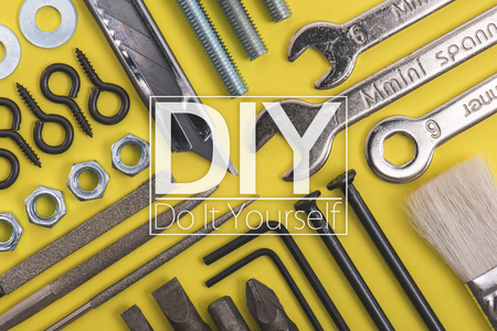 reinforcement: DIY image, tools