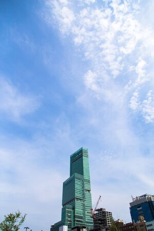developed: High rise building in Japan Stock Photo