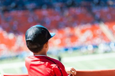 Children, Watching Sports