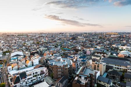 Urban landscape in Japan 写真素材