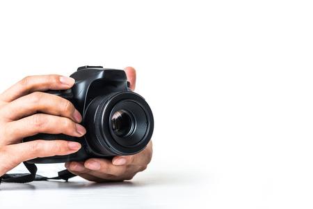 デジタル カメラ、デジタル一眼レフ 写真素材 - 77411852