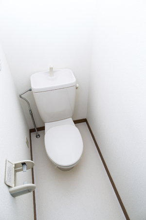 a toilet stool: Rest room,Western style toilet