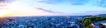 paisaje urbano en japón