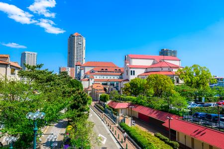 residential area: Streets of Takarazuka City, Japan