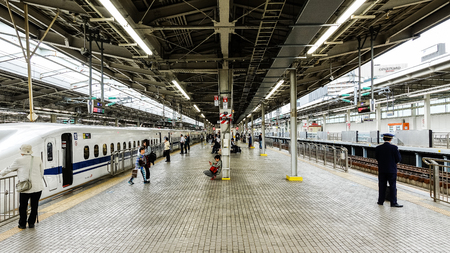 Osaka, Japan -  6 May 2017 - Shin Osaka Station in Osaka of Japan. Editorial