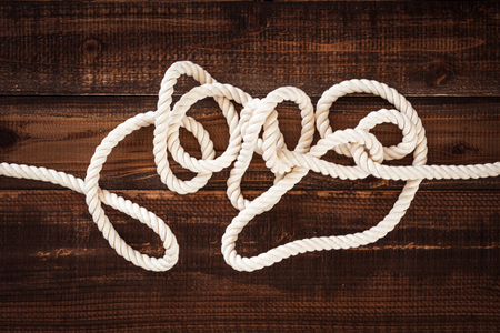 hysteria: rope Stock Photo