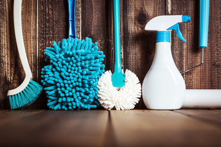 cleaning tool Stock Photo