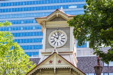 日本: 北海道札幌市の時計台 写真素材