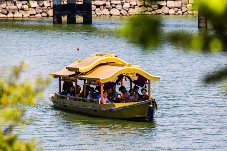 Japanese style tourist boat