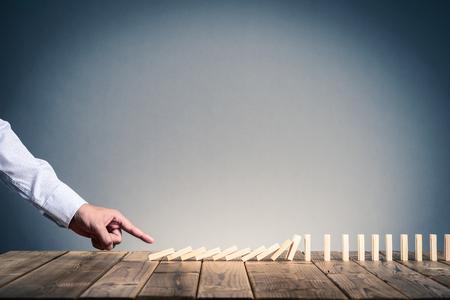 domino block
