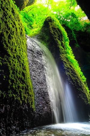 waterfall at Hyogo Japan