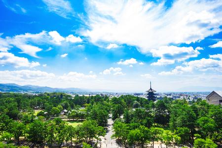 나라현 일본의 풍경 스톡 콘텐츠