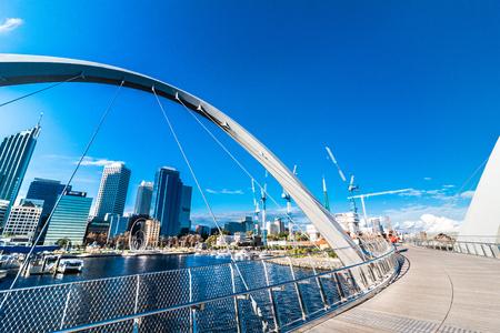 Stedelijk landschap van Perth Australië