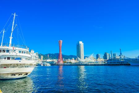 日本の神戸港