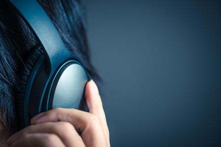Men with headphones