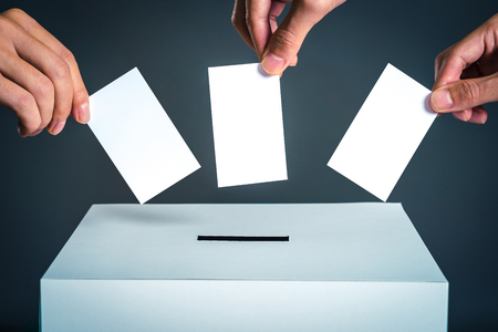 Stemvak en verkiezingsbeeld
