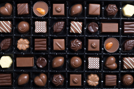 Lots of chocolate