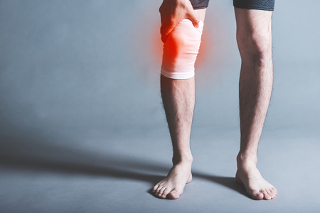 Male and knee pain
