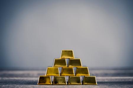 Lots of gold bullion