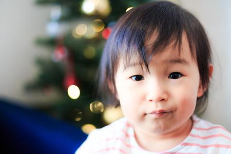 Cute child, Christmas image