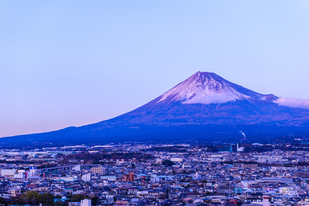 Mt. Fuji in Japan Stock Photo