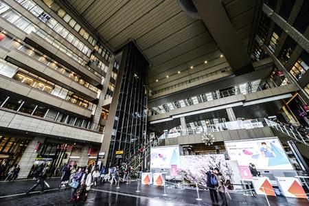 Osaka, Japan -  21 March 2018 - JR Osaka Station in Osaka of Japan.This is a station of West Japan Railway Company.