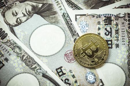 Japanese yen and bit coin