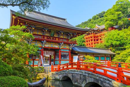 Saga,Japan - July 19,2018 -  Yutoku Inari Shrine in Kashima city,Saga prefecture,Japan.