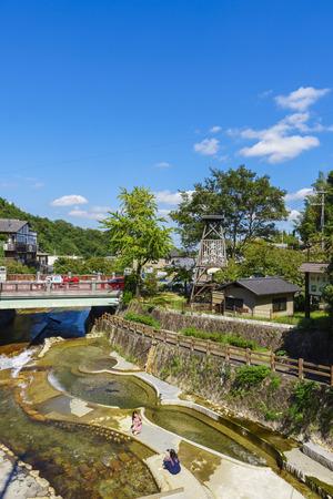 Hyogo,Japan - October 3,2018 - Arima hot spring resort in Kobe in Hyogo Prefectures in Japan. Redakční