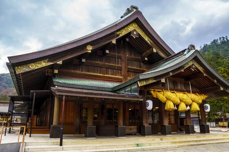Izumo Taisha shrine in Shimane,Japan 新聞圖片